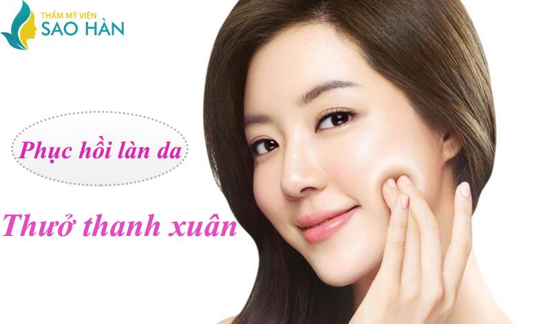 Phẫu thuật căng da mặt nội soi tại Sao Hàn