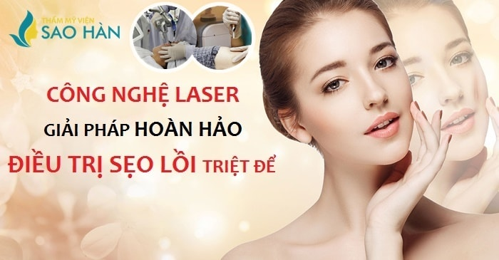 trị sẹo lồi bằng laser